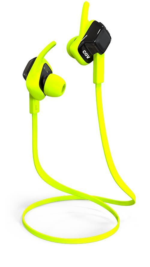 Casque CGV Bluetooth Sport Intra Vert
