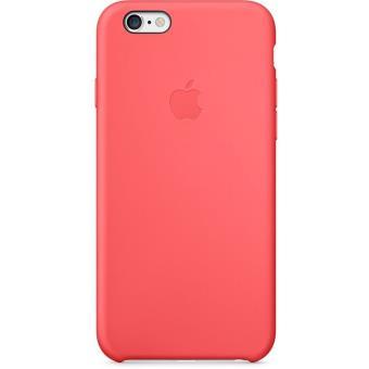 coque apple pour iphone 6 silicone rose etui pour. Black Bedroom Furniture Sets. Home Design Ideas