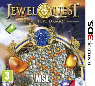 Jewel Quest 6 The Sapphire Dragon 3DS - Nintendo 3DS