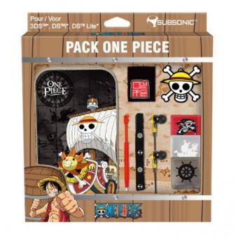 subsonic pack one piece pour nintendo 3ds et dsi accessoire console de jeux achat prix fnac. Black Bedroom Furniture Sets. Home Design Ideas