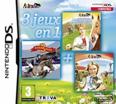 3 Jeux en 1 Volume 2 Animaux DS - Nintendo DS