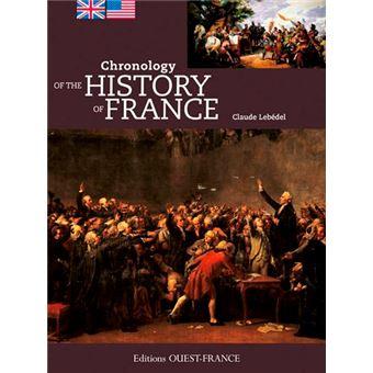 Chronologie de l 39 histoire de france edition en anglais - Livre de cuisine francaise en anglais ...