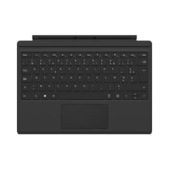 clavier microsoft type cover pour surface pro 4 noir qwerty claviers pour tablette. Black Bedroom Furniture Sets. Home Design Ideas