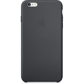 coque apple pour iphone 6 silicone noir etui pour. Black Bedroom Furniture Sets. Home Design Ideas