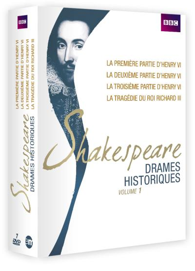 Shakespeare : Drames historiques Volume 1 Coffret 7 DVD