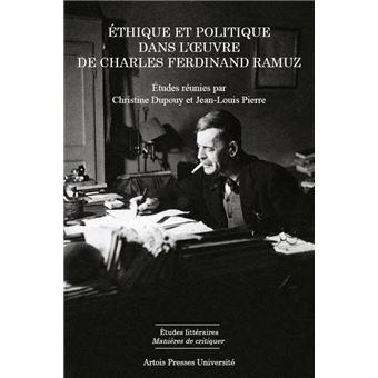Ethique et politique dans l'oeuvre de Charles Ferdinand Ramuz