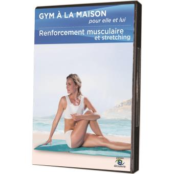 gym la maison renforcement musculaire et stretching dvd dvd zone 2 achat prix fnac. Black Bedroom Furniture Sets. Home Design Ideas