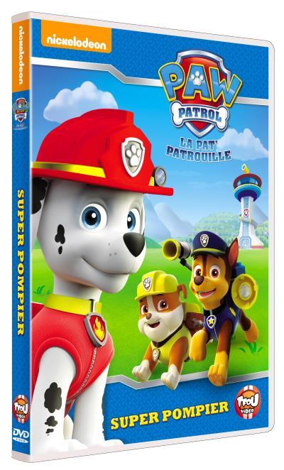 Paw Patrol La Pat?Patrouille Volume 1 Marcus le pompier DVD