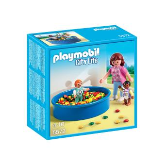 Playmobil city life 5572 piscine balles pour b b s for Piscine playmobil prix