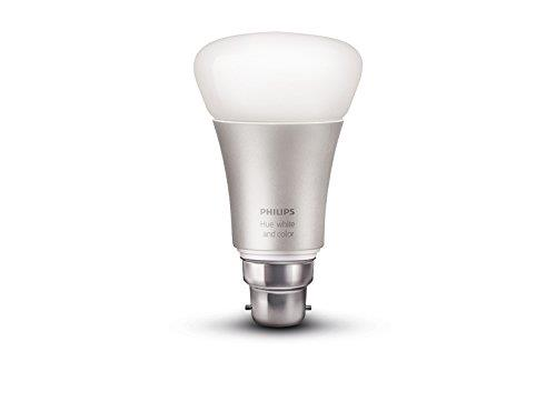 Ampoule Philips Hue White and Color B22 A60 10 W pour 60€