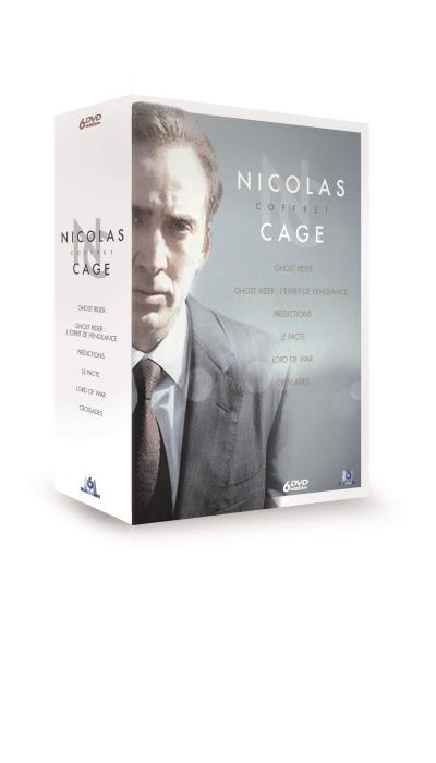Coffret Nicolas Cage 6 films DVD