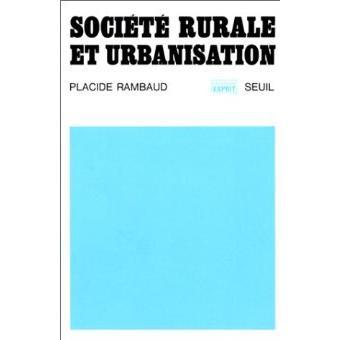 Societe rurale et urbanisation