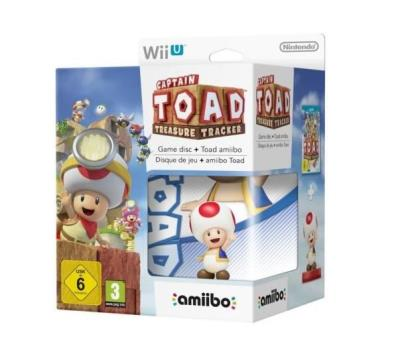 Captain Toad Treasure Tracker Wii U + Amiibo Toad - Nintendo Wii U