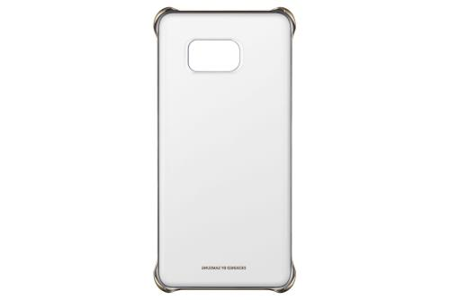 Coque Samsung Clear Cover pour Galaxy S Edge Or a