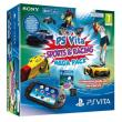 Pack Sony PS Vita + Sports & Racing Mega Pack + Carte Mémoire 8 Go