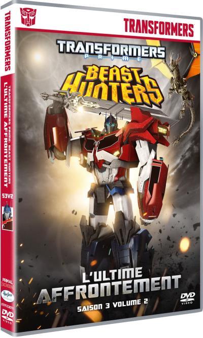 DVD en français de Transformers Prime en France (Région 2, Europe) 1507-1