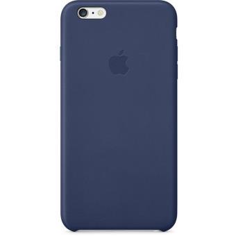coque apple pour iphone 6 cuir bleu nuit etui pour. Black Bedroom Furniture Sets. Home Design Ideas