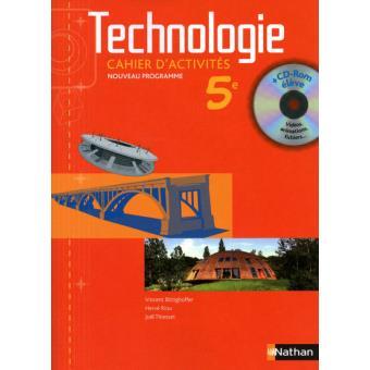 exercices technologie 5ème