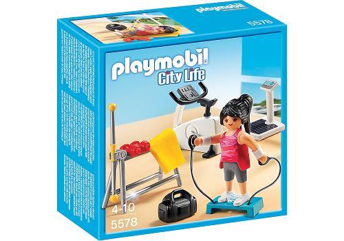 Jouet Playmobil City Life 5578  Salle De Sport  La Minuté Bébé