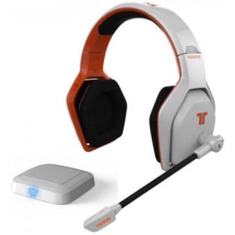 micro casque mad catz tritton katana 7 1 blanc sans fil pour ps 4 accessoire console de jeux. Black Bedroom Furniture Sets. Home Design Ideas