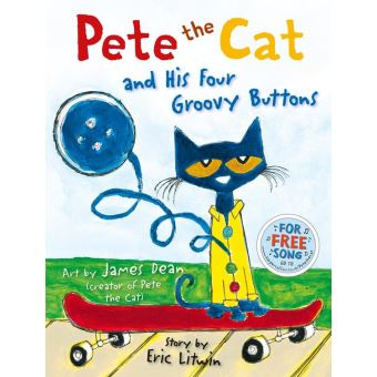 Pete The Cat Groovy Buttons Read Aloud