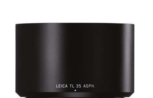 Parasoleil Leica Noir pour TL 35 mm f/1.4 et 60 mm f/2.8