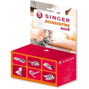 Boite d 39 accessoires singer 292114 achat prix fnac for Singer boite a couture