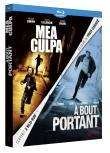 Coffret Fred Cavayé : Mea Culpa + À bout portant (Blu-Ray)