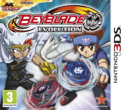 Beyblade Evolution 3DS - Nintendo 3DS