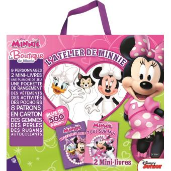 mickey la boutique de minnie collectif coffret achat livre achat prix fnac. Black Bedroom Furniture Sets. Home Design Ideas