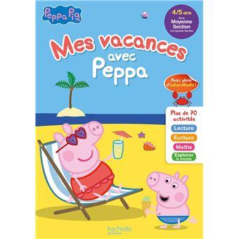 cahier de vacances peppa pig