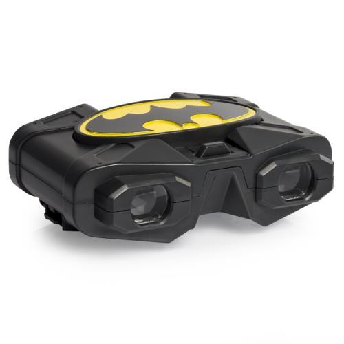 Utilise tes jumelles Batman pour voir l´ennemi arriver au loin ! Grossissement x 3. Fonctionne avec 2 piles AAA non fournies. Dès 6 ans.