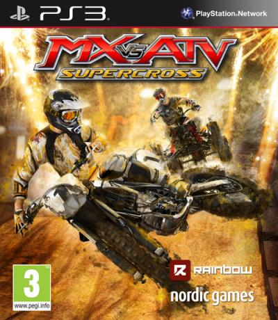 MX vs ATV Supercross PS3 - PlayStation 3