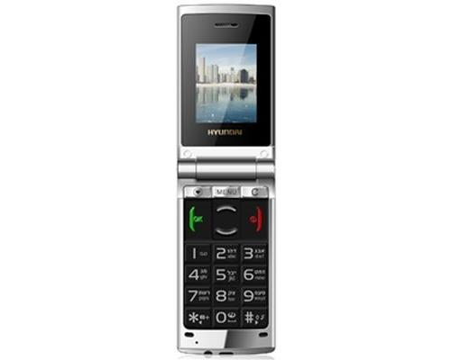 Téléphone mobile Hyundai Doveo Noir et Gris