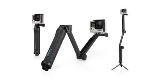 Kit de fixation 3 en 1 GoPro 3 Way Grip