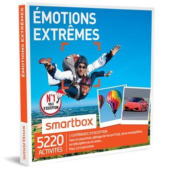 coffret cadeau smartbox emotions extr mes coffrets cadeaux acheter sur. Black Bedroom Furniture Sets. Home Design Ideas