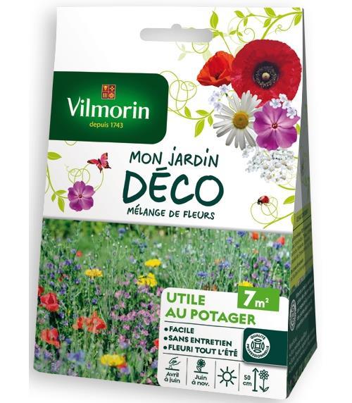 Mélange de fleurs Vilmorin Coin utile au potager 7 m²