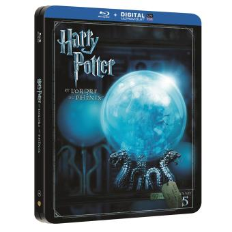 harry potter harry potter et l ordre du ph nix steelbook blu ray coffret dvd blu ray david. Black Bedroom Furniture Sets. Home Design Ideas