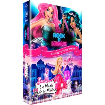 Coffret barbie rock et royales magie de la mode dvd dvd zone 2 william lau achat prix fnac - Barbi et la magi de la mode ...