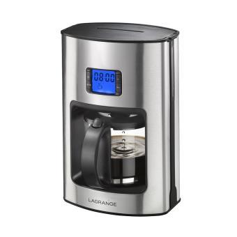 Cafeti Re Programmable Lagrange Naos 529001 Inox Achat Prix Fnac