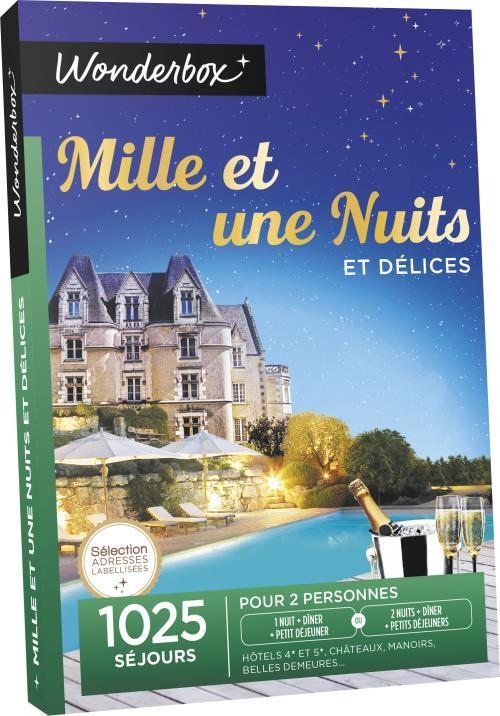 Plus de 1001 nuits délicieuses : hôtels 4* et 5*, châteaux, manoirs, belles demeures