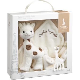 doudou sophie la girafe sophie ch rie en boite cadeau. Black Bedroom Furniture Sets. Home Design Ideas