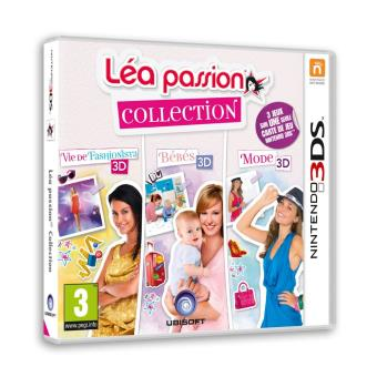 Lea passion collection 3ds sur nintendo 3ds jeux vid o for Lea passion decoration