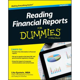 Reading financial reports for dummies epub lita for Reading blueprints for dummies