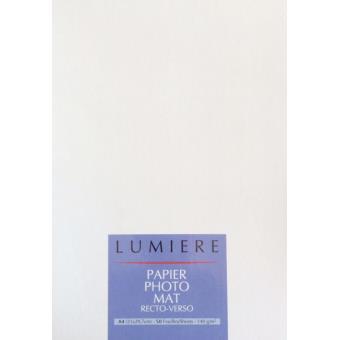 pack papier photo ilford lumi re premium mat a4 papier. Black Bedroom Furniture Sets. Home Design Ideas
