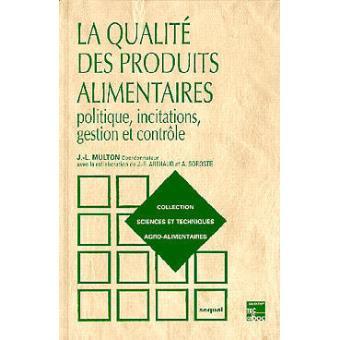 Controle de qualité des produits alimentaires