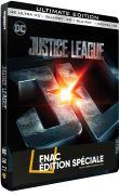 Justice League Edition Spéciale Fnac Steelbook Blu-ray + Blu-ray 4K + Blu-ray 3D