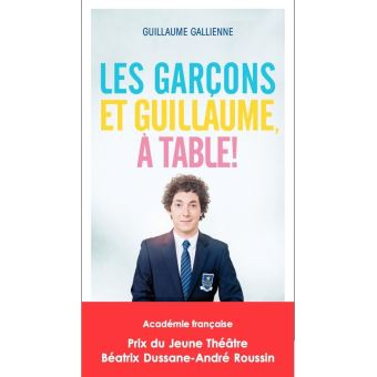 Les gar ons et guillaume table broch guillaume - Guillaume les garcons a table streaming ...