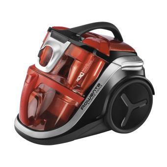 aspirateur sans sac rowenta silence force multi cyclonic noir rouge achat prix fnac. Black Bedroom Furniture Sets. Home Design Ideas