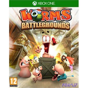 worms battlegrounds xbox one sur xbox one jeux vid o achat prix fnac. Black Bedroom Furniture Sets. Home Design Ideas
